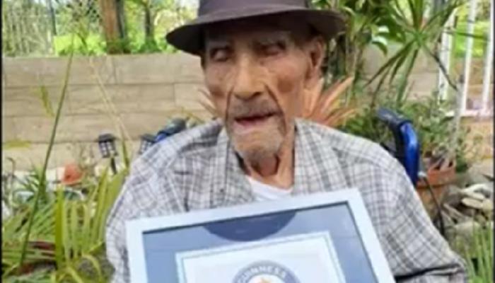 Διεθνή : «Ρεκόρ Guinness» Ο γηραιότερος άνδρας στον κόσμο