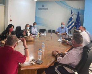 Με πρωτοβουλία του Γ.Γ Εσωτερικών συζητήθηκαν οι βασικοί άξονες για μόνιμες προσλήψεις προσωπικού στους δήμους με αντιπροσωπεία Γ.Γ. Δήμων της Αττικής