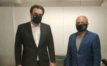 Ηράκλειο Αττικής: Συνάντηση του Δημάρχου με τον υπουργό Ψηφιακής Διακυβέρνησης