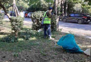 Μαρούσι: Αυτοψία του Δημάρχου σε εργασίες καθαριότητας και συντήρησης πρασίνου στην πόλη