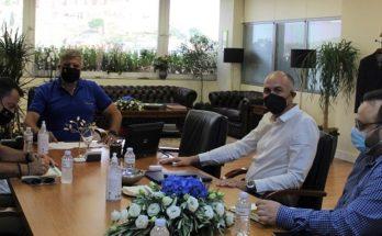 Μεταμόρφωση: Συνάντηση του Δήμαρχου με Περιφερειάρχη Αττικής