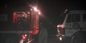 Παλλήνη: Για 2η φορά στο ίδιο περίπου σημείο στην Ανθούσα χθες τα μεσάνυχτα πυρκαγιά