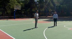 Παπάγου Χολαργού: Έτοιμο να παραδοθεί προς χρήση τις επόμενες ημέρες, το ανοιχτό γήπεδο μπάσκετ «Χ. Χαντζόπουλος»