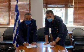 Παπάγου Χολαργού: Υπογραφή Μνημονίου για καλή συνεργασία του Δήμου και του «251 Γενικού Νοσοκομείου Αεροπορίας»
