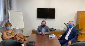 Παπάγου Χολαργού: Τον Αναπληρωτή Υπουργό Υγείας επισκέφτηκε ο Δήμαρχος για θέματα που αφορούν στη λειτουργία του Τοπικού Ιατρείου που αυτή την περίοδο αποτελεί και εμβολιαστικό κέντρο