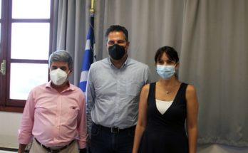 Πεντέλη: Επίσκεψη στον Δήμο πραγματοποίησε ο Γιώργος Στεργίου γραμματέας της πολιτικής επιτροπής της ΝΔ.