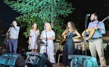Την Παρασκευή 23/7 στην Πλατεία της Νέας Πεντέλης πραγματοποιήθηκε μια υπέροχη μουσική εκδήλωση