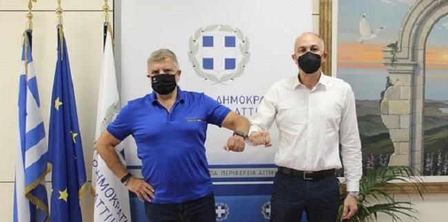 Περιφέρεια Αττικής: Συνάντηση του Δήμαρχου Μεταμόρφωσης με τον Περιφερειάρχη Αττικής