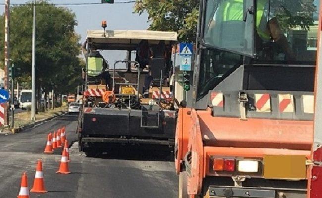 Εργασίες ασφαλτόστρωσης και συντήρησης του οδικού δικτύου της Λεωφόρου Κηφισιάς