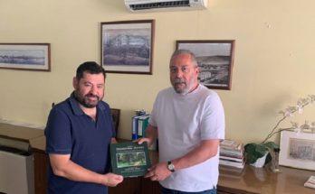 Λυκόβρυση Πεύκη: Τον Δήμαρχο Καισαριανής Χρήστο Βοσκόπουλο συνάντησε ο Τάσος Μαυρίδης
