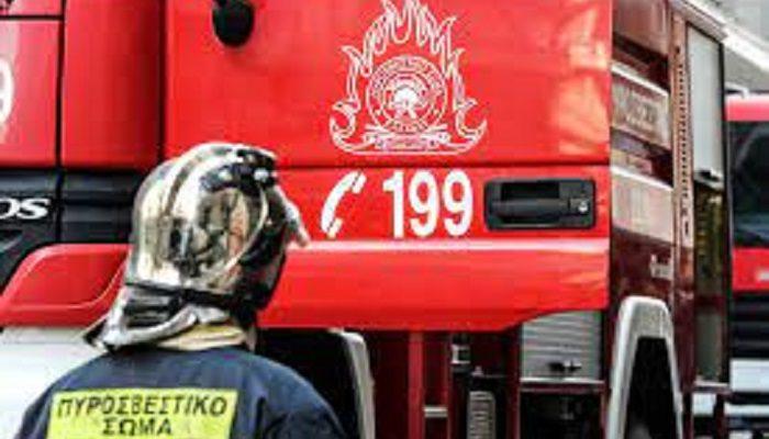 Μαρούσι : Πυρκαγιά σε διαμέρισμα στην οδο Δολιανής