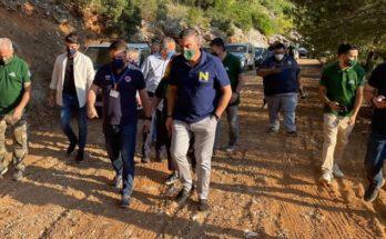 ΣΠΑΥ: Αυτοψία στον Υμηττό πραγματοποίησαν σήμερα το πρωί ο Υφυπουργός Πολιτικής Προστασίας με τον Πρόεδρο του ΣΠΑΥ παρουσία του Δημάρχου Παιανίας και Παπάγου Χολαργού