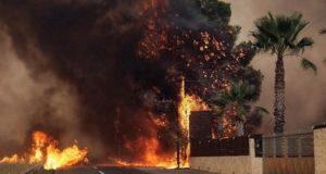 Εκκενώνεται και το Ολυμπιακό Χωριό - Διακοπή της κυκλοφορίας από την Τροχαία