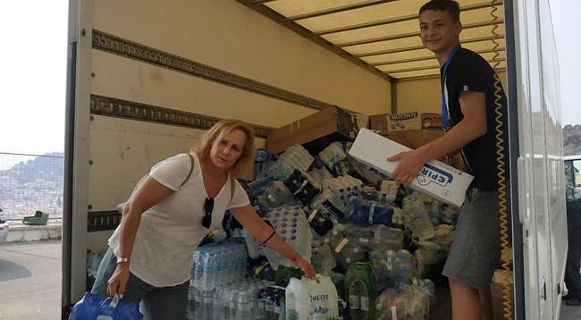 Βριλήσσια: Παραδόθηκε χθες Τρίτη 10/8 και η 4η ανθρωπιστική βοήθεια που συγκεντρώθηκε στο Δήμο