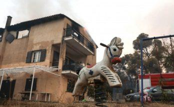 Κηφισιά: Επίδομα πληγέντων από την φωτιά