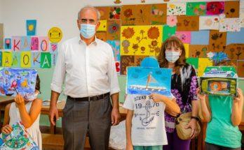 Τα 550 παιδιά που συμμετείχαν, στο «Καλοκαιρινό Παιδότοπο», ηλικίας από 4 έως και 12 ετών