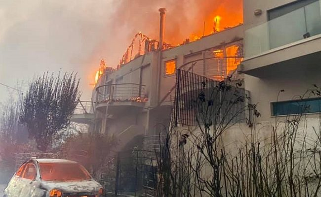 Τα μεγαλύτερα προβλήματα ηλεκτροδότησης - Ποιες περιοχές δεν έχουν ρεύμα από την μεγάλη φωτιά