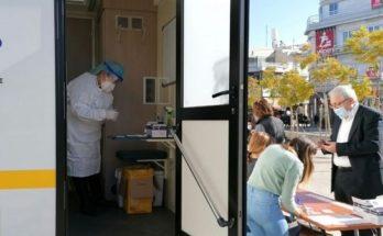 rapidtest στο σταθμό ΗΣΑΠ στην πλατεία Ευτέρπης