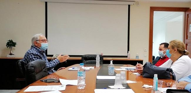 Μαρούσι : Συνάντηση του Δημάρχου Αμαρουσίου Θεόδωρου Αμπατζόγλου με τον Εκπολιτιστικό Σύλλογο Δωδώνης Αμαρουσίου