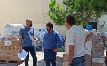 Μεταμόρφωση: Δύο γεμάτα φορτηγά βοήθεια στον Δήμο Μαντουδίου-Λίμνης- Αγίας Άννας από τον Δήμο