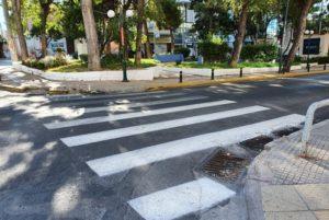 Νέα Ιωνία: Διαγραμμίσεις, διαβάσεις πεζών και τοποθέτηση πινακίδων σήμανσης από τον Δήμο Νέας Ιωνίας