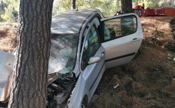 Πεντέλη : Τροχαίο ατύχημα στην Λ Πεντέλης