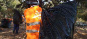 ΣΠΑΥ: Συνεργεία του συνδέσμου σάρωσαν όλο τη Λεωφόρο Κατεχάκη καθαρίζοντας όλα τα σημεία επαφής με το βουνό