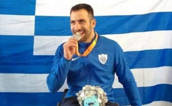 Πεντέλη: Ο Πάνος Τριανταφύλλου κατέκτησε το χάλκινο μετάλλιο στη σπάθη Β στους Παραολυμπιακούς Αγώνες του Τόκιο