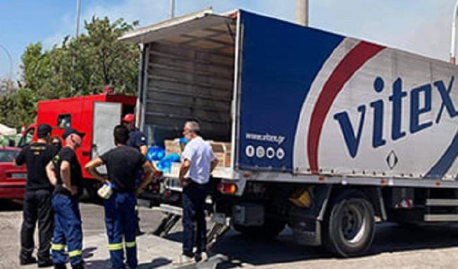 «Συγχαρητήρια» H εταιρεία χρωμάτων Vitex ανέλαβε την σίτιση 750 πυροσβεστών πρώτης γραμμής