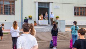Κηφισιά: Σε αγιασμούς των σχολείων ο Δήμαρχος Κηφισιάς Γιώργος Θωμάκος
