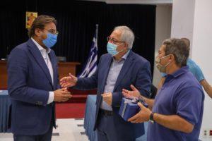 Μαρούσι : Bραβεύουσα του Παραολυμπιονίκη Αθανάσιου Γκαβέλα και του συνοδού του Σωτήρη Γκαραγκάνη για το Χρυσό μετάλλιο και παγκόσμιο ρεκόρ στο Τόκιο