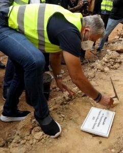 Περιφέρεια Αττικής: Τελέστηκε ο αγιασμός και η τοποθέτηση του θεμέλιου λίθου για την κατασκευή του νέου Δημαρχιακού Μεγάρου