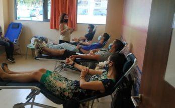 Βριλήσσια: Ολοκληρώθηκε με μεγάλη προσέλευση η εθελοντική αιμοδοσία