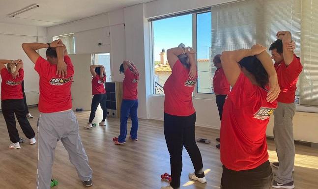 Διόνυσος: Γυμναστική για τους εργαζομένους του Δήμου στο πλαίσιο του Ευρωπαϊκού προγράμματος αθλητισμού BE ACTIVE