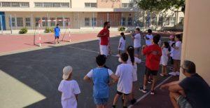 Διόνυσος: Με επιτυχία πραγματοποιήθηκε η δράση χάντμπολ στο προαύλιο του Δημοτικού Σχολείου της Άνοιξης