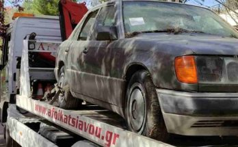 Κηφισιά: 251 εγκαταλελειμμένα αυτοκίνητα έχουν απομακρυνθεί από την αρχή του έτους