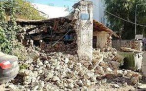 σχυρή σεισμική δόνηση 5,8 Ρίχτερ στην Κρήτη
