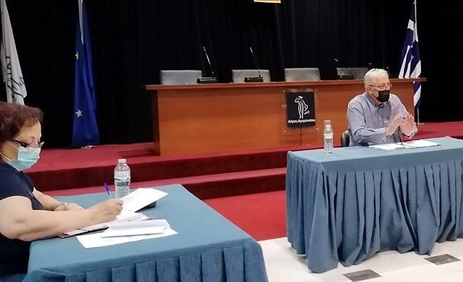 Συνάντηση του Δημάρχου Αμαρουσίου Θεόδωρου Αμπατζόγλου με τον Εξωραϊστικό Σύλλογο Σωρού και Λάκκας Κόττου