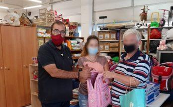 Μαρούσι : Στα χέρια των παιδιών του Αμαρουσίου βρίσκονται τα σχολικά είδη που συγκεντρώθηκαν από τη δράση του Δήμου