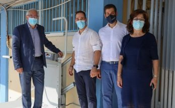 Μαρούσι : Επίδειξη και εκπαίδευση λειτουργίας ηλεκτροκίνητων αναβατορίων προσβασιμότητας στο 1ο Γυμνάσιο ευγενική χορηγία του «Ομίλου Υγεία»