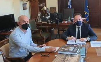 Μεταμόρφωση: Εποικοδομητική συνάντησή του Δημάρχου με τον Αναπληρωτή Υπουργό Εσωτερικών