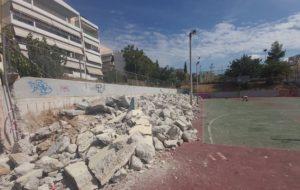 Μεταμόρφωση: Υπό την συνέχει εποπτεία του Δημάρχου πραγματοποιούνται εργασίες από την Τεχνική Υπηρεσία του Δήμου