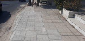 Πεντέλη: Σε εξέλιξη το πρόγραμμα για την επισκευή και ανακατασκευή των πεζοδρομίων