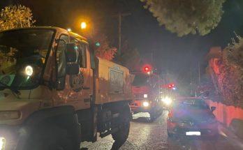 Πεντέλη: Στην οδό Διός στα Μελίσσια ξέσπασε μικρής έκτασης πυρκαγιά
