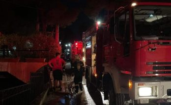 Πεντέλη: Πυρκαγιά σε υπόγειο πολυκατοικίας στην οδό Ευελπίδων και Μακεδονομάχων στην Νέα Πεντέλη