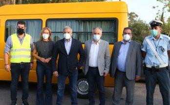 Περιφέρεια Αττικής : Έλεγχοι μικτών κλιμακίων Περιφέρειας και Τροχαίας σε σχολικά λεωφορεία