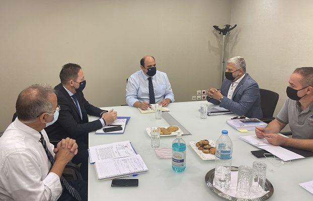 Περιφέρεια Αττικής: Ευρεία σύσκεψη του Υφ. στον Πρωθυπουργό, του Αν. Υπ. Εσωτερικών του Υφ. Περιβάλλοντος και του Περιφερειάρχη για το συντονισμό δράσεων για την αντιπλημμυρική θωράκιση της Αττικής