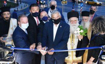Περιφέρειας Αττικής : Παραδόθηκε χθες στους πολίτες η νέα σύγχρονη πεζογέφυρα στο ύψος του Π. Φαλήρου επί της Λεωφόρου Ποσειδώνος