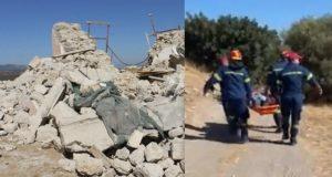 Κρήτη : Ένας νεκρός και εννέα τραυματίες από την ισχυρή σεισμική δόνηση 5,8 Ρίχτερ με επίκεντρο 23 χιλιόμετρα βορειοδυτικά της Άρβης