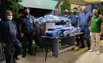 ΣΠΑΥ : Νέος κύκλος παραδόσεων σε Μέσα Ατομικής Προστασίας και Πυροσβεστικό Εξοπλισμό προς όλες τις Εθελοντικές Ομάδες Δασοπροστασίας και Πυρόσβεσης του Υμηττού